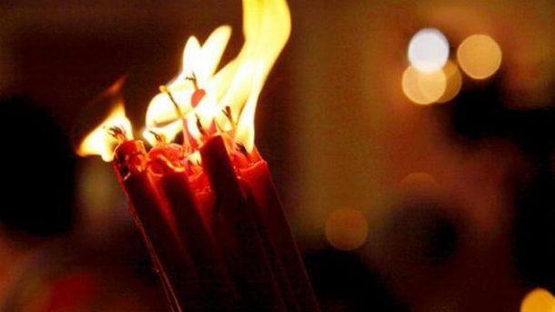 Сьогодні з Єрусалима доКиєва привезуть Благодатний Вогонь