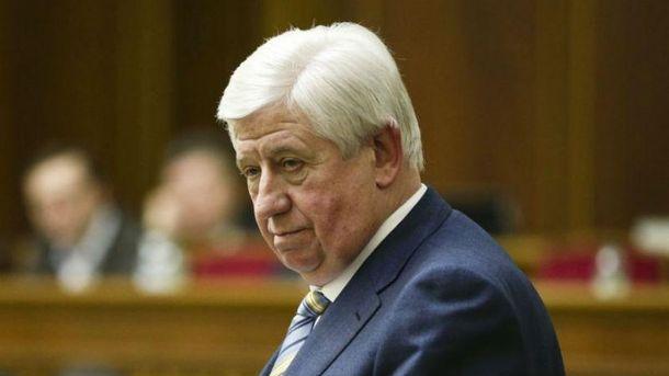 Иск Шокина овосстановлении вдолжности генпрокурора оставили без рассмотрения