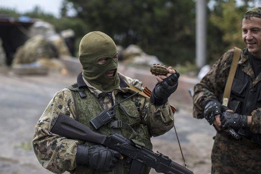 Война на Донбассе: позиции сепаратистов