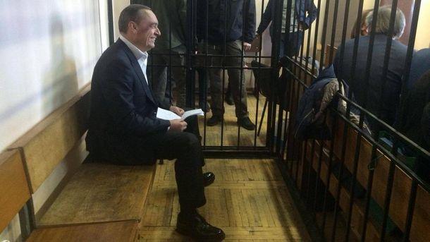 Микола Мартиненко у залі суду