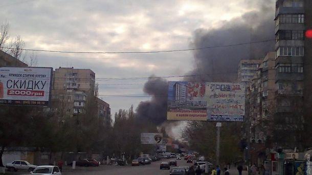 60 пожарных справились смасштабным пожаром нарынке Одессы