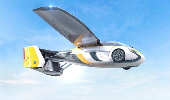Летающие автомобили засотни тыс. евро показали вМонако