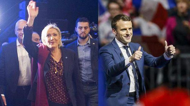 Макрон VS Марин Ле Пен, или