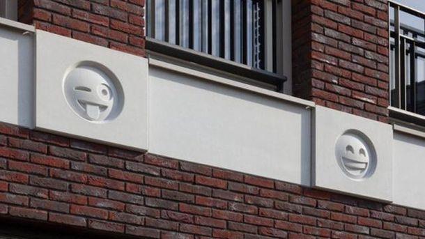 У Нідерландах створили будинок із смайликами: фото