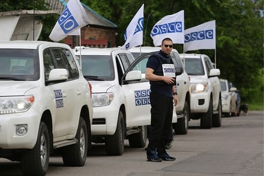 СММ ОБСЕ возобновила патрулирование на Донбассе