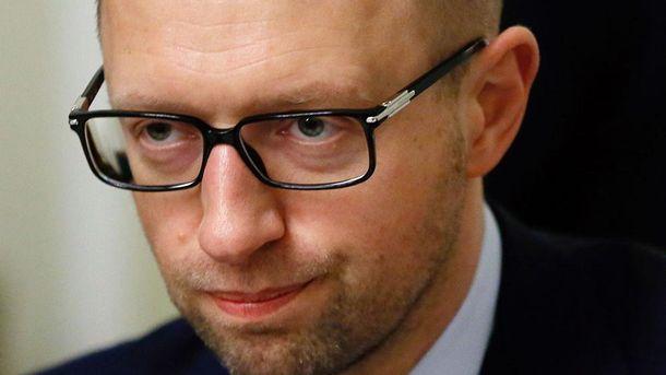 Яценюк о вероятном аресте: у Российской Федерации «ничего неполучится»