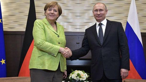 Меркель желает, чтобы санкции против Российской Федерации были сняты