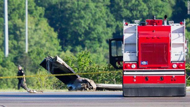 ВСША сорвался собрыва грузовой самолет, пилоты погибли