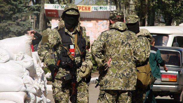 Боевики открыли огонь по солдатам ВСУ изминометов