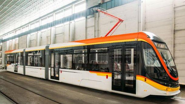 ВОдессе появился современный трамвай