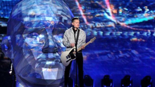 Украинцы выставят насцену «Евровидения» огромную стальную голову