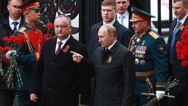Президент Молдови поїхав святкувати 9 травня доПутіна