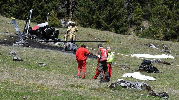 Двое погибли в итоге крушения вертолета вАвстрии
