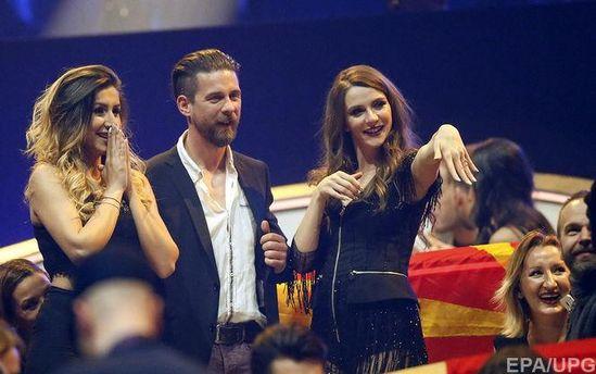 Під час другого півфіналу Євробачення-2017 чоловік освідчився співачці від Македонії