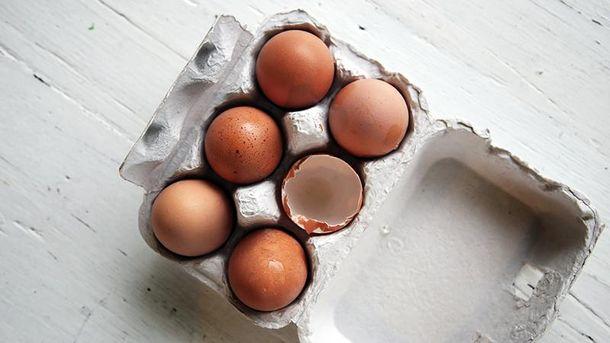 Де краще зберігати яйця?