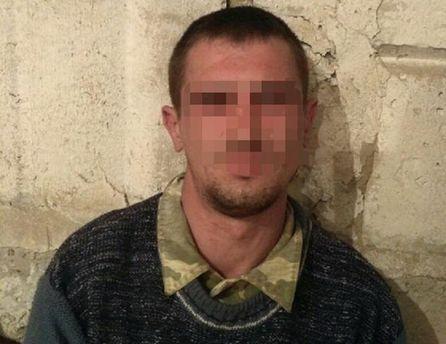 В «серой зоне» АТО схвачен вооруженный боевик «ЛНР»