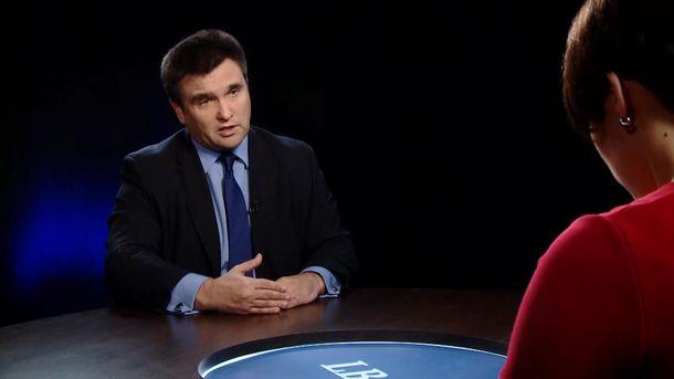 Клімкін розповів про готовність США тиснути наРосію