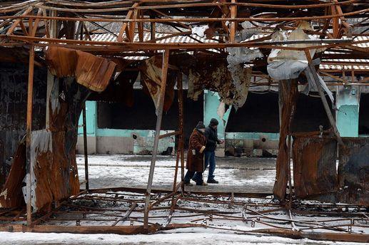 Разрушенный Донбасс