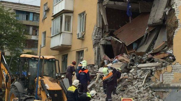 Вибух ужитловій багатоповерхівці вРосії: зруйновані 16 квартир, є жертви