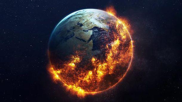 Вweb-сети интернет  показали видео сглобальными катастрофами, которые ожидают  население Земли