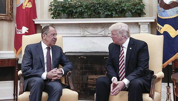 Трамп розповів секретну інформацію Лаврову