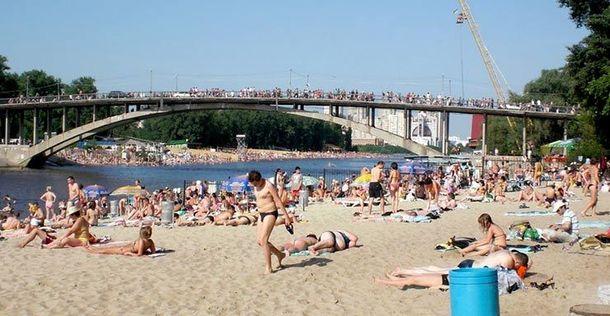 Пляж у Києві