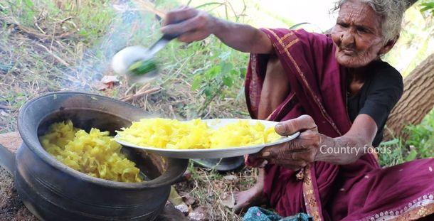 106-річна Мастанамма з Індії