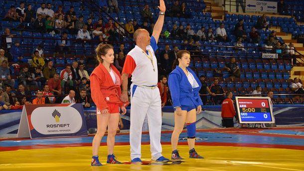 Украинка завоевала золото начемпионате Европы посамбо