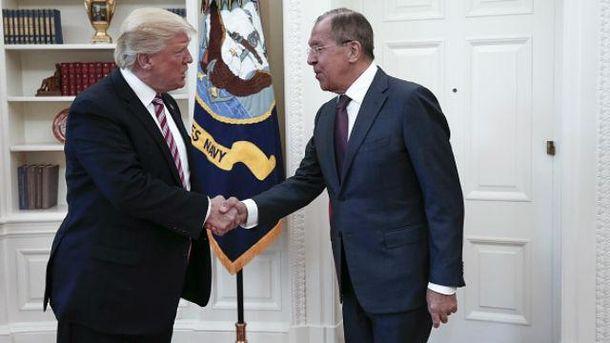 Трамп и Лавров встретились в Белом Доме