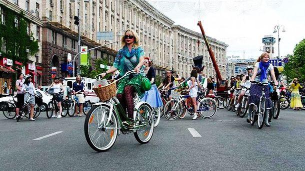 Как в Киеве прошел Всеукраинский велодень