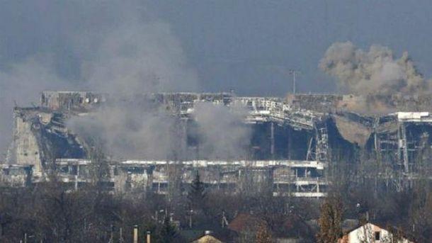 Боевики возобновили боевые действия около Донецкого аэропорта