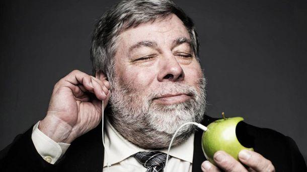 В государство Украину приедет соучредитель Apple