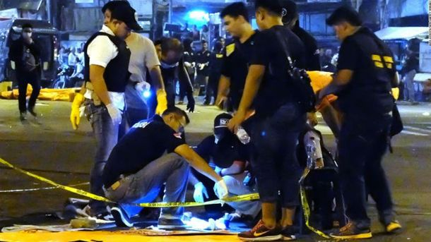 Вибухи вДжакарті: з'явилися моторошні відео з місця подій