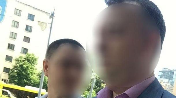 УКиєві нахабарі затримали заступника начальника управління ГПУ