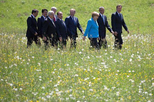 НаСицилії стартує саміт Великої сімки