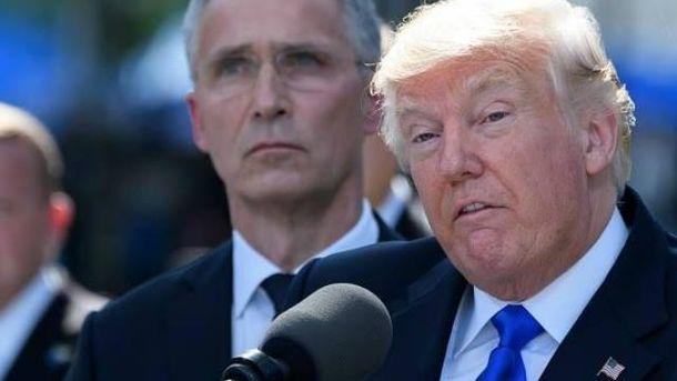 Сумбурний Трамп на саміті НАТО: Вранці – гроші, ввечері – солідарність