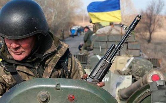 НаДонецком направлении боевики повсему фронту применяют тяжелое вооружение