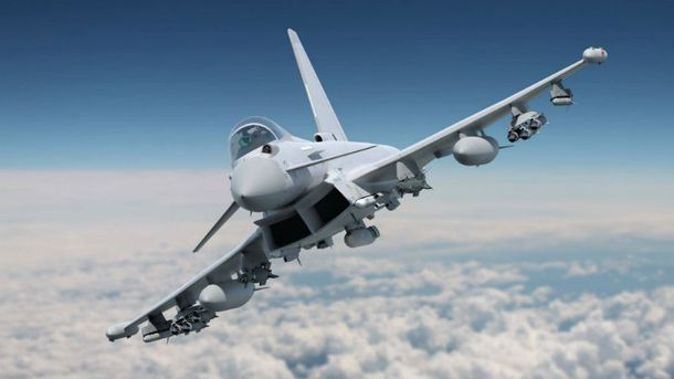 УВеликобританії наперехоплення російських літаків піднялися два винищувачі