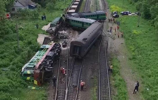 Чому зіштовхнулися пасажирський та вантажний потяги на Хмельниччині