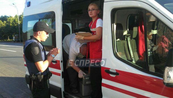 ВКиеве наСТО взорвался газ, четверо пострадавших