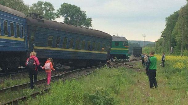 ВУкраинском государстве столкнулись два поезда: Шесть человек пострадали