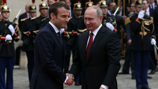 Франція посилить санкції протиРФ уразі ескалації наДонбасі