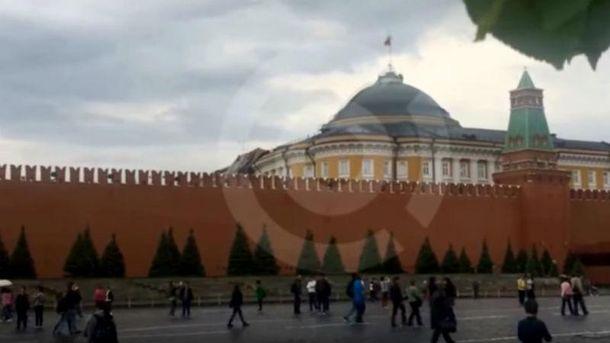 Шторм в российской столице сломал Кремль