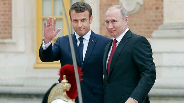 З'явилась реакція Russia Today наслова Макрона: Сам брехун