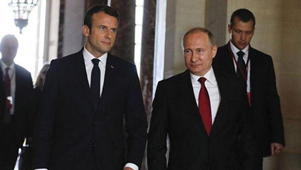 Головні підсумки зустрічі Путіна і Макрона