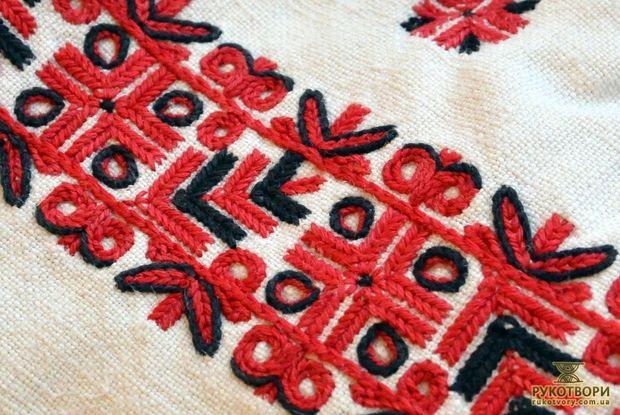 Геометрические мотивы на черкасских вышиванках