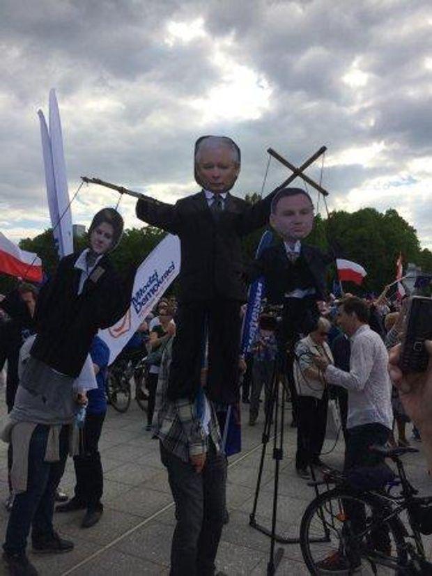 Варшава, мітинг
