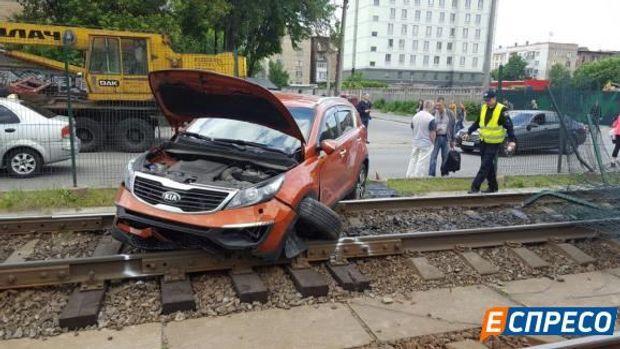 ДТП, Київ, швидкісний трамвай