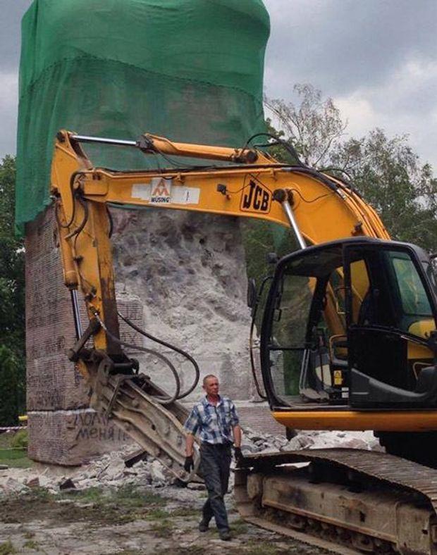 Пам'ятник чекістам, Київ, Либідська