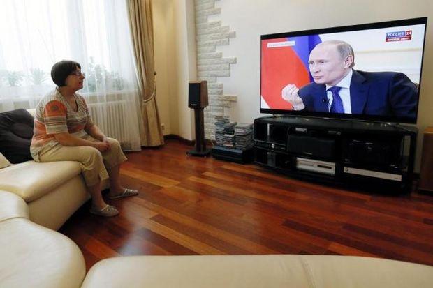 Пропаганда, Росія, ЗМІ
